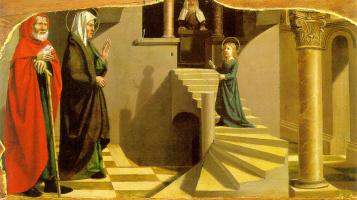 Никола Дипр. Введение Марии во храм