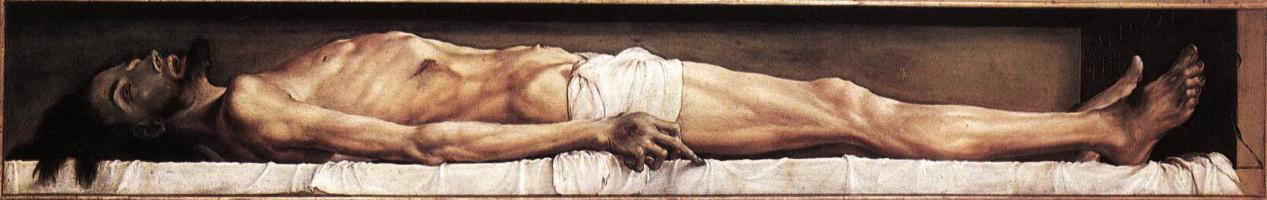 Ганс Гольбейн Младший. Тело мертвого Христа