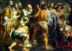 Якоб Йорданс. Апостолы Павел и Варнава в Листре