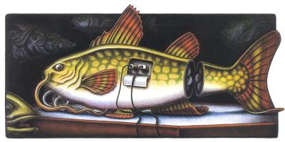 Кевин Кренек. Рыба
