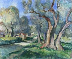 Анри Лебаск. Путь среди маслин