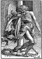 Ханс Бальдунг. Христос у колонны бичевания