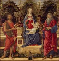Sandro Botticelli. The Altar Bardi