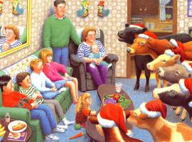 Даниэль Лейн. Рождественские коровы 07