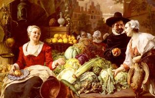 Фердинанд Вагнер. Овощной рынок