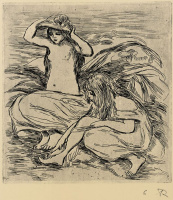 Pierre-Auguste Renoir. Two bathers