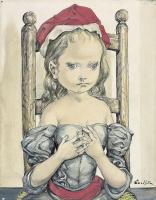 Цугухару Фудзита ( Леонар Фужита ). Little Red Riding Hood