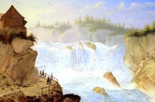 Шуль Фрюхес. Австрийский водопад