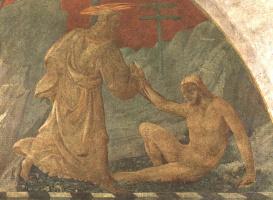 Паоло Уччелло. Сотворение Адама