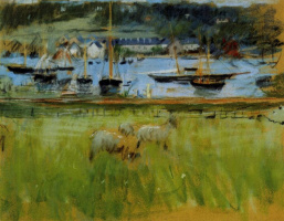 Berthe Morisot. Harbour in the Port