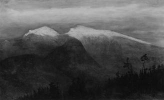 Гомер Додг Мартин. Белые горы