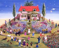 Клодин Питерс. Розовый дом