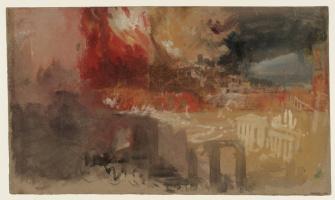 Джозеф Мэллорд Уильям Тёрнер. Пожар в Риме