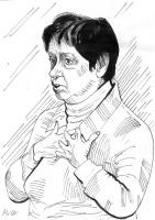 Alexey RusAC. Portrait of the poetess