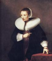 Фердинанд Балтасарс Боль. Портрет неизвестной женщины