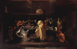 Nicola Poussin. The last anointing