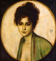 Franz von Pieces. Portrait