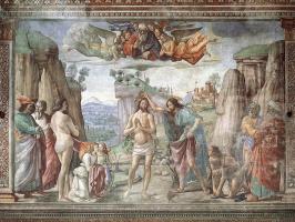 Доменико Гирландайо. Крещение Христа