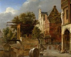 Ян ван дер Хейден. Разводной мост
