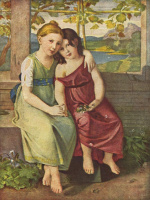 Христиан Готлиб Шик. Адельхейд и Габриэль фон Гумбольт