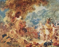 Жан Оноре Фрагонар. Ринальдо в саду Армиды