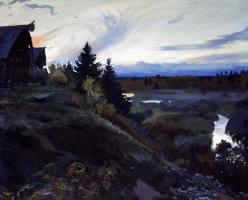Ivan Glazunov. Twilight