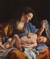 Орацио Джентилески. Мария с младенцем