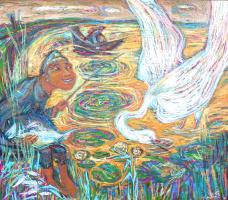 Alexander (Александр) Stepanovish (Степанович) Shynin (Шинин). Золотое озеро
