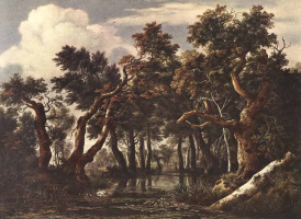 Якоб Исаакс ван Рейсдал. Болото в лесу