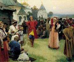 Клавдий Васильевич Лебедев. Пляска