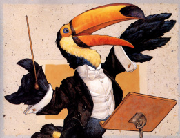 Скотт Густафсон. Животный оркестр. Дирижер
