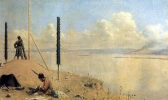 Василий Васильевич Верещагин. Пикет на Дунае