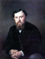 Василий Григорьевич Перов. Портрет Борисовского