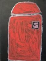 Человек в  красном плаще
