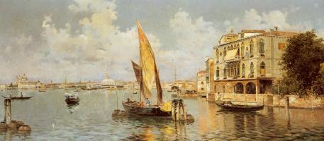 Антонио Рейна. Большой канал