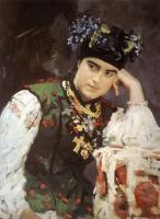 Валентин Александрович Серов. Портрет С. М. Драгомировой