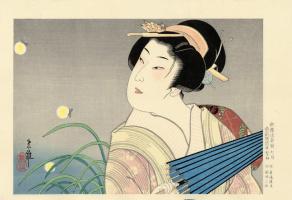 Тадамаса. Японская живопись. Тадамаса5