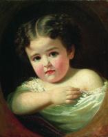 Иван Кузьмич Макаров. Детский портрет. 1850-е
