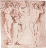 Peter Paul Rubens. Three caryatids