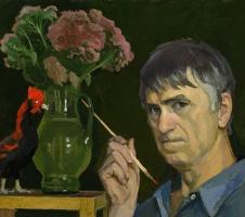 Дмитрий Дмитриевич Жилинский. Автопортрет