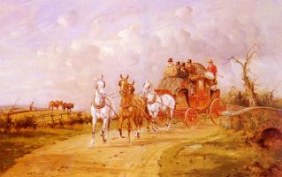 Джордж Райт. Королевская почта