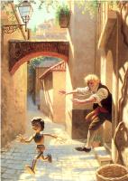 Грег Хильдебрандт. Пиноккио убегает