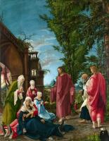 Альбрехт Альтдорфер. Христос прощается с матерью