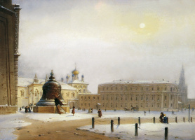 Ivanovskaya Square in Moscow