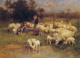 Луиджи Чиалива. Охранник стада