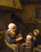 Адриан Янс ван Остаде. Крестьянская семья