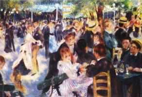 Ball at the Moulin de La Galette (the reduced author's copy)