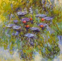 Савелий Камский. Водяные лилии, N28, копия картины Клода Моне