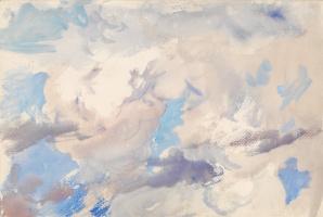 John Singer Sargent. The sky