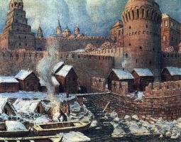 Аполлинарий Михайлович Васнецов. Старое устье реки Неглинной